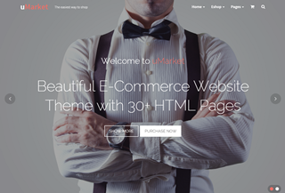 uMarket - E-commerce Theme