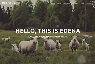 Edena WordPress theme