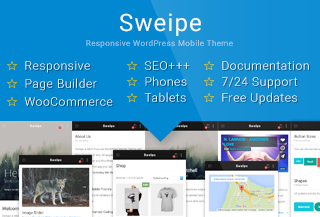 Sweipe - Mobile WP Theme