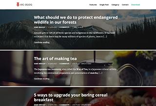 HC Blog - Free WordPress Theme