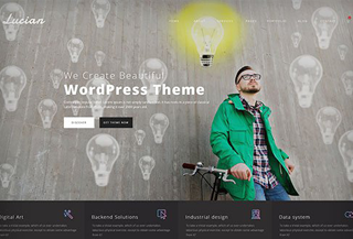 Lucian - WordPress Theme