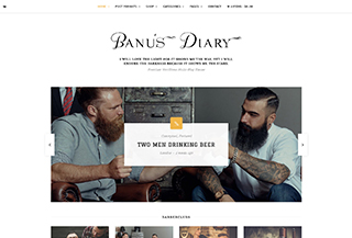 Banu - WP Blog Shop Theme