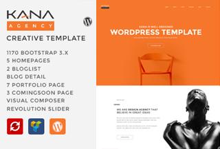 Kana Creative WordPress Theme