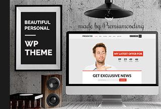 Presenter - WordPress Theme