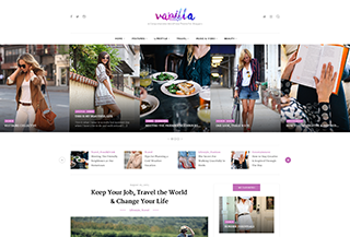 Vanilla WordPress Theme