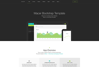 Macer Bootstrap HTML Template
