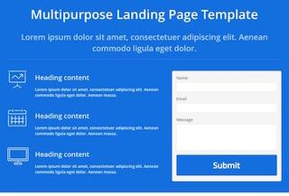 Booland - Free Landing Page