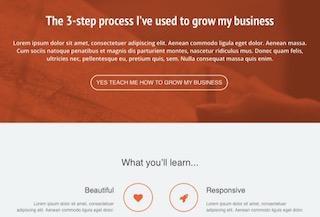 Boowebinar - Free Landing Page