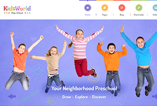 KidsWorld - Kindergarten Theme