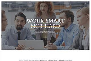 DeoCreative Onepage HTML5