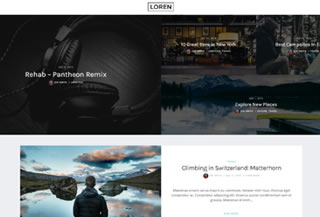 Loren WordPress Theme