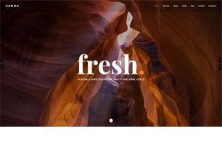 Canna Creative WordPress Theme
