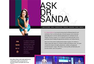Ask Dr. Sanda