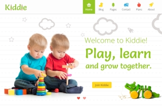 Kiddie - Kindergarten WP Theme