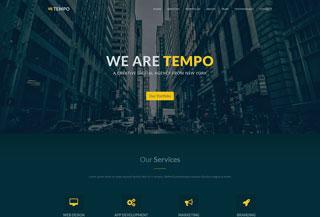Tempo Free Template