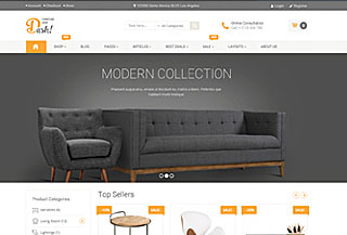 Dash - Furniture Theme