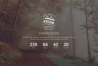 Prizm Coming Soon Theme