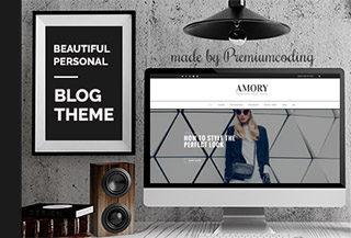 Amory - WordPress Blog Theme