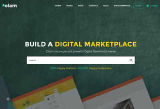 Olam - WordPress EDD Theme