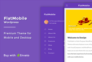 FlatMobile- Mobile WordPress