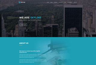 Skyline HTML Template