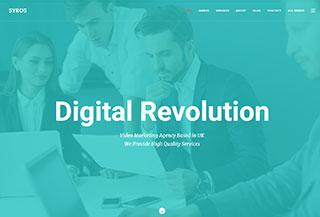 Syros - Multipurpose HTML5