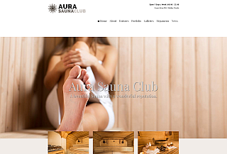 Aura Sauna WordPress Theme