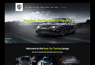 Tuningcrew WordPress Theme