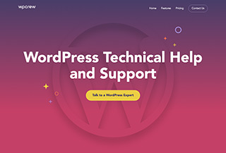 WP Crew - WordPress Service