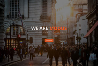 Modus Free Template