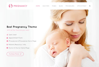 Pregnancy Medial WP Theme