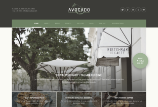 Avocado: Restaurant Theme