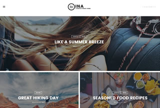 Ina - Premium Theme Blog