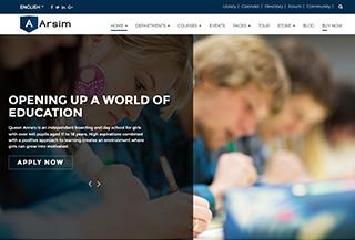 Arsim - Education Theme