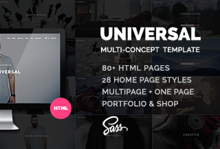 Universal - Business template