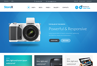 StoreX - Hi Tech Shop WP Theme