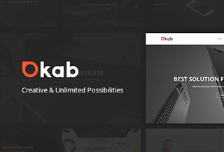 Okab Premium WordPress Theme