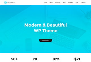 Insomnia - WordPress Theme