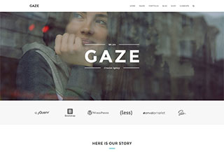 Gaze - Premium HTML Template