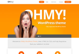 ohmy! WordPress business theme