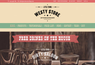 Westy - Wild West WP Theme