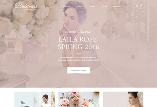 Brideliness - Wedding Shop WordPress Theme