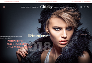 Chicky - Fashion Marketplace WordPress Theme