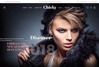 Chicky - Fashion Marketplace WordPress Theme