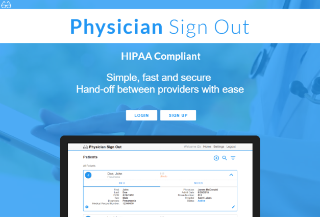 Physician Sign Out