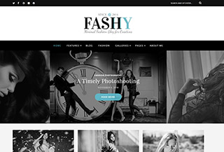 Fashy - A WP Blog