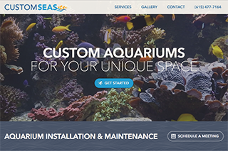 Custom Seas - Fish Aquariums