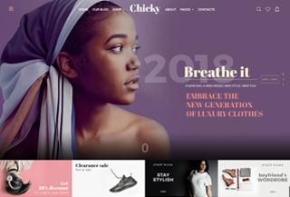 Chicky - Premium theme