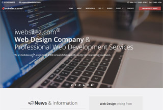 iwebsitez.com Web Design