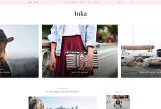Inka | Blog WordPress Theme